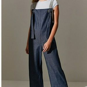 Bling Bling Denim Overalls by Urban Outfitters- L